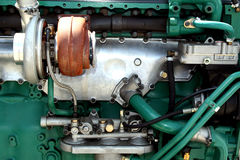 Engine parts and components Royalty Free Stock Photography