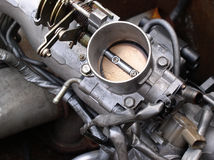 Engine Parts throttle Royalty Free Stock Image