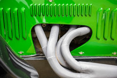 Engine pipes Royalty Free Stock Images