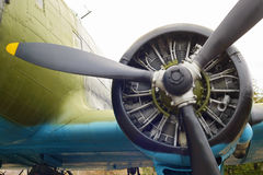 Engine of plane Royalty Free Stock Photos