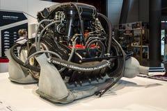 Engine of the Porsche 911 Targa 2,2 S, 1971. Royalty Free Stock Photos