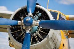 Engine propeller Royalty Free Stock Image