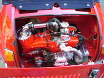 Engine red Royalty Free Stock Photography
