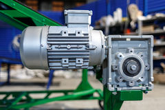 Engine and reduction gear Royalty Free Stock Images