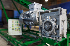 Engine and reduction gear Stock Photography