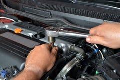 Engine Repair Stock Photography