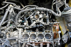 Engine reparation Stock Photography