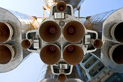The engine of rocket Stock Photos