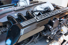 Engine of the Rolls-Royce close up Royalty Free Stock Photos