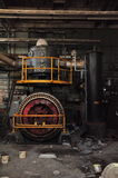 Engine Room. An abandoned steam engine; Still vibrant as ever Stock Photos