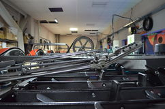 The engine room of  bowling. Stock Images