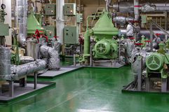 Engine room Stock Images