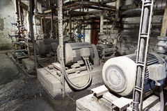 Engine room Stock Photography