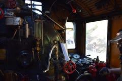 Engine room. Ukko-Pekka, class Hr1,  1009 Royalty Free Stock Image