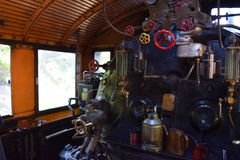 Engine room. Ukko-Pekka, class Hr1,  1009 Stock Image