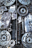 Engine's details. Abstract background. Stock Photography