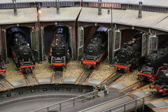 Engine Shed Royalty Free Stock Images