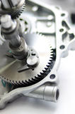 Engine Spare Part Gear Royalty Free Stock Image