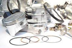 Engine Spare Part Royalty Free Stock Images
