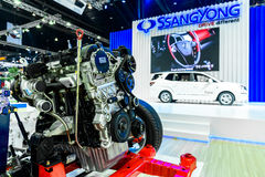 Engine of SsangYong car Royalty Free Stock Images
