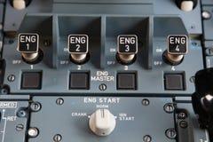 Engine start Stock Image