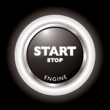 Engine start Royalty Free Stock Photos