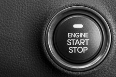Engine start button Stock Image