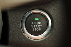 Engine Start Royalty Free Stock Photo