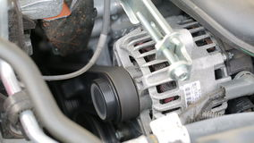 Engine Starting stock video