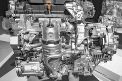 Engine of suv car Royalty Free Stock Images