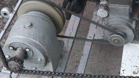 Engine  transmission stock video footage