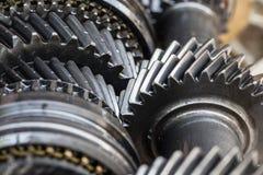 Engine transmission Stock Photo