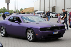 Engine tuning Dodge Mopar Challenger Stock Photography
