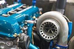 Engine Turbo 1. 2 3 royalty free stock images