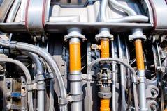 Engine. Ukraine aircraft engine details motorsich Royalty Free Stock Photos