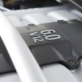 Engine V 12 Photos stock
