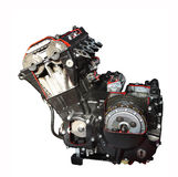 Engine on the white background Stock Photography