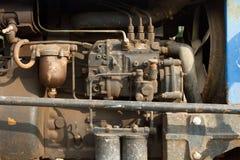 Engine. Working. Stock Image