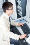 IT Engineer. (work is being seriously Stock Images