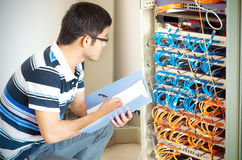 IT Engineer Stock Photo