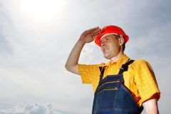 Engineer builder Royalty Free Stock Photos