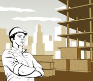 Engineer Builder Architect Royalty Free Stock Images