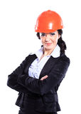 Engineer,business woman. Stock Images