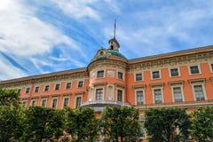 Engineer castle in St. Petersburg Stock Image
