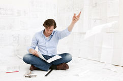 Engineer checking Stock Images