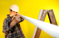 Engineer checking element Stock Photography