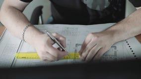 Engineer stock video