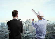 Engineer concept Royalty Free Stock Photo