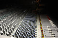 The engineer console Royalty Free Stock Photos