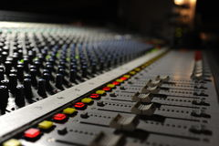 The engineer console Stock Image